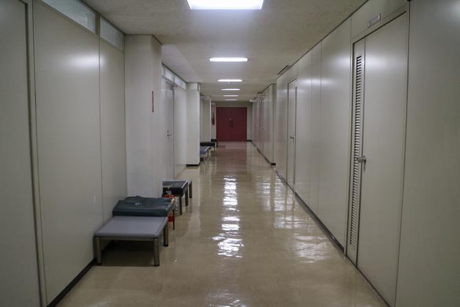 中央区役所がドラマの撮影現場に使われました